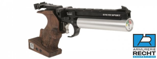 PISTOLET A AIR STEYR LP50 COMPACT - 5 COUPS