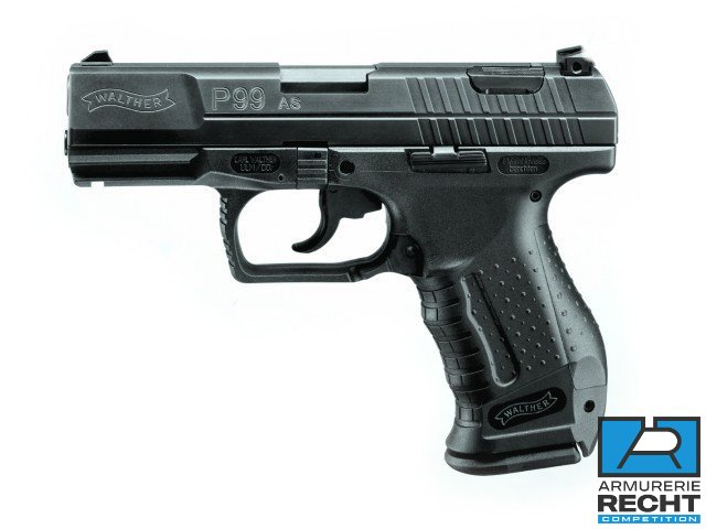 Pistolet WALTHER P99 AS - cal.9mmPara