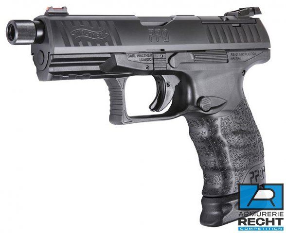 PISTOLET WALTHER Q4 TAC 9MM
